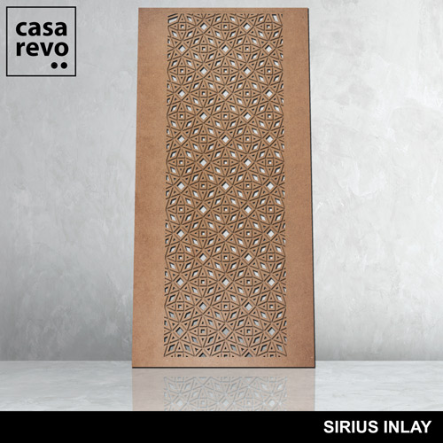 SIRIUS INLAY mdf panel by CASAREVO