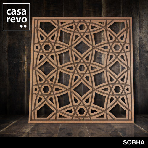 SOBHA MDF Fretwork panels by CASAREVO