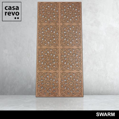 SWARM 8 panels fretwork by CASAREVO