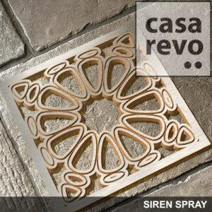 Siren Spray CASAREVO MDF Brass effect fretwork panels
