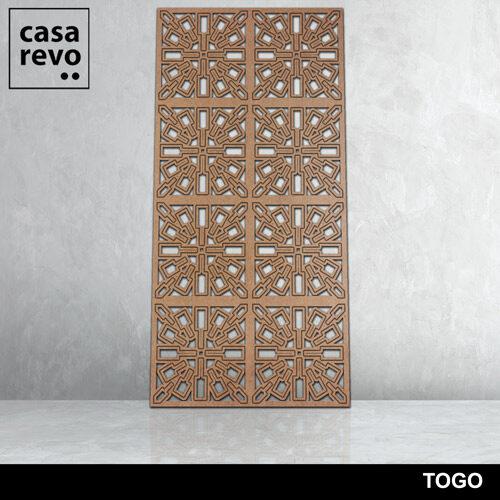 TOGO 8 panels fretwork by CASAREVO