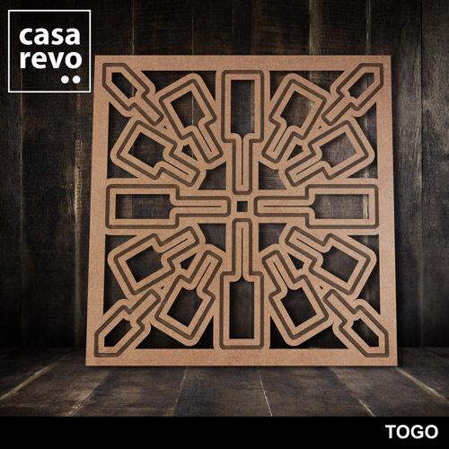 TOGO MDF FRETWORK PANELS BY CASAREVO