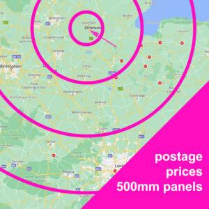 Postage prices for CASAREVO MDF panel