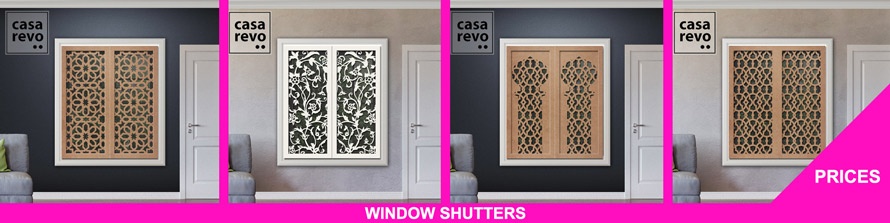 CASAREVO WINDOW SHUTTER PRICES