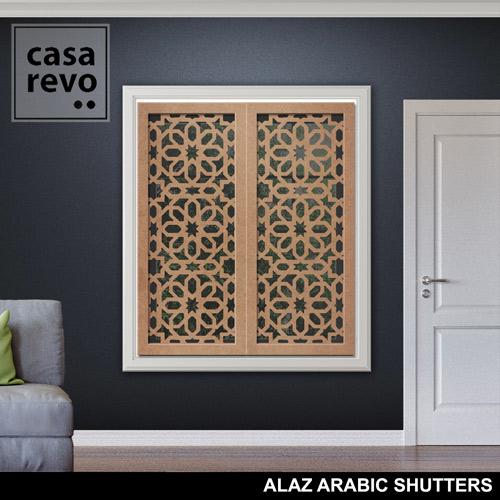 ALAZ ARABIC MDF SHUTTERS by CASAREVO