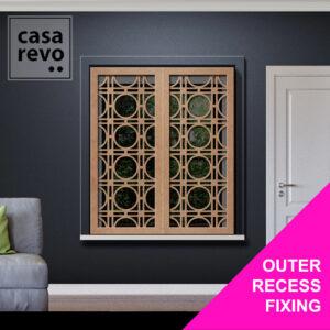 BLOOM WINDOW SHUTTER DESIGN BY CASAREVO