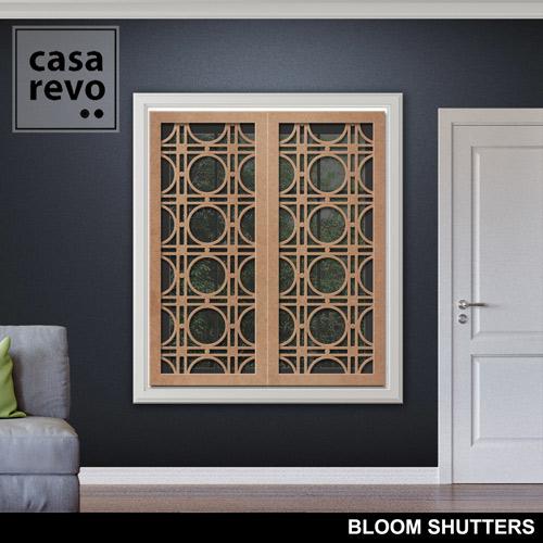 BLOOM MDF Window Shutters by CASAREVO