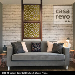 CASAREVO room divider DIDO 45 Gold
