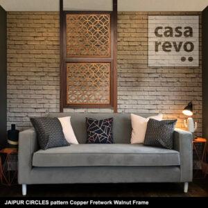 CASAREVO room divider JAIPUR CIRCLES copper