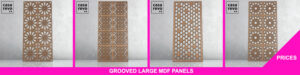 CASAREVO Large MDF Grooved panel price