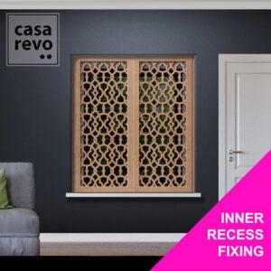 CASAREVO SOLO ARABIC WINDOW SHUTTER FIXING