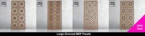 CASAREVO large Grooved MDF panel shop