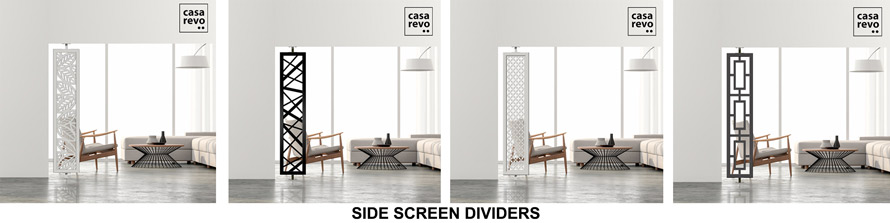 Side screen partitions by CASAREVO