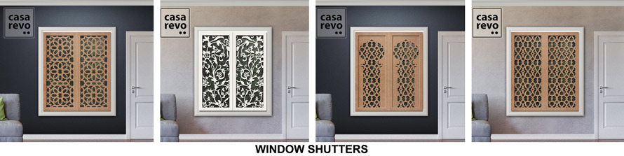 high quality window shutters by casarevo