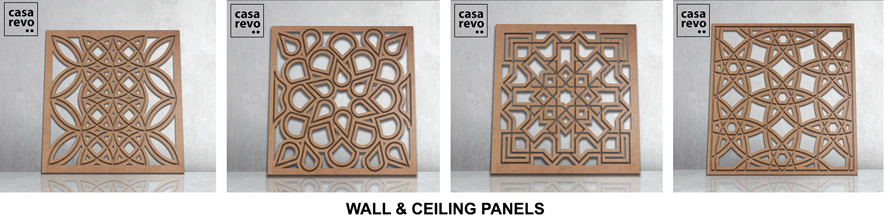 mdf wall and ceiling tiles by casarevo