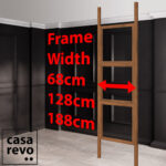 CASAREVO Room partitions widths