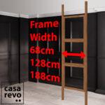 CASAREVO Room partitions widths
