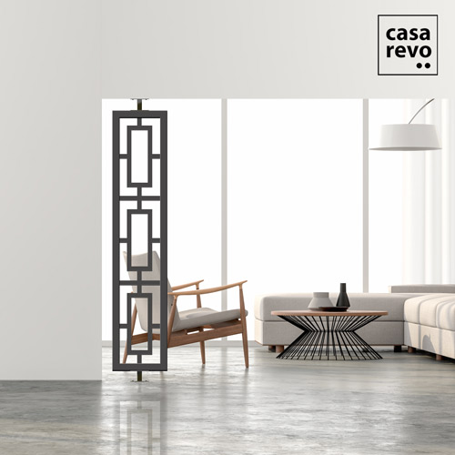 KROMA grey side screen dividers by CASAREVO