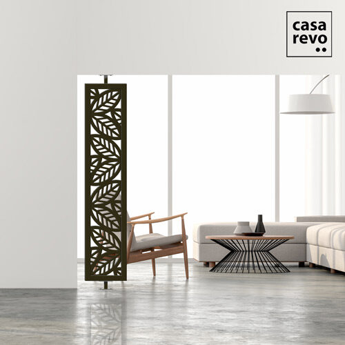 Leaf Modern side screen dividers by CASAREVO Bronze