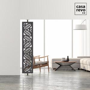 Leaf Modern side screen dividers by CASAREVO Grey