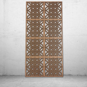 Decorative MDF CNC panels and screens by CASAREVO