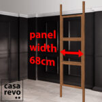 CASAREVO single room partition sizes
