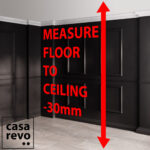 CASAREVO room dividerss how to measure