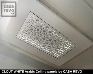 CLOUT White MDF decorative ceiling panels