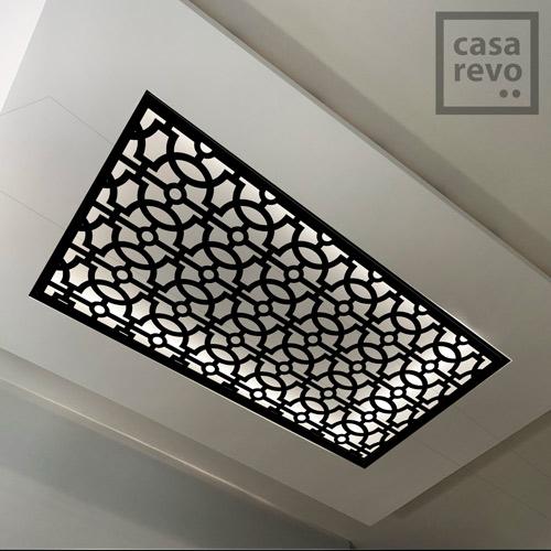RAVE Arabic Black arabic MDF ceiling panel designs