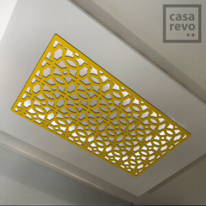 RAVE ARABIC GOLD ceiling panels by CASAREVO