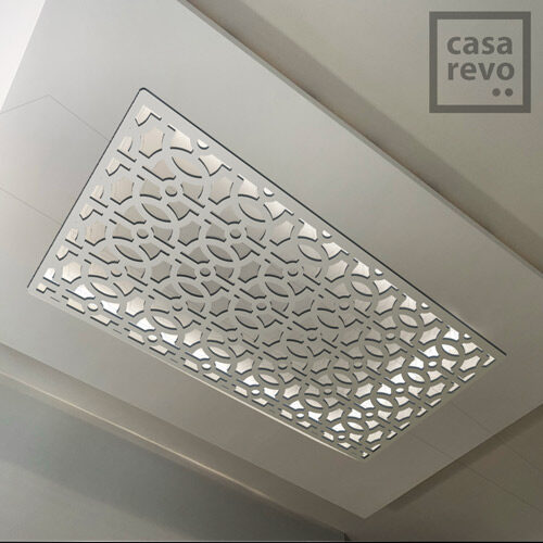RAVE Arabic White arabic style MDF ceiling panel designs