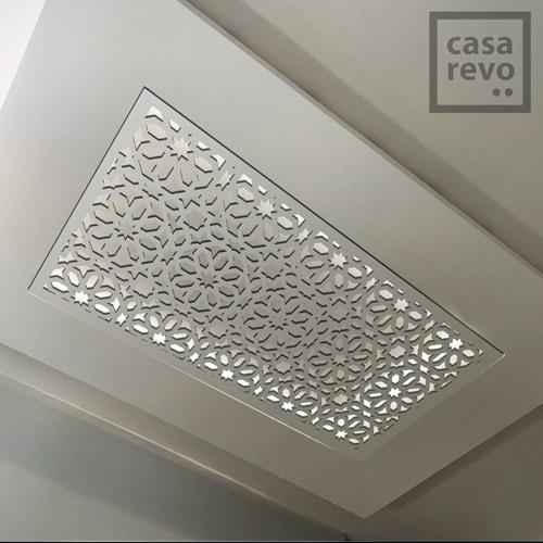SPARK Arabic white arabic style MDF ceiling panel designs
