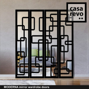 MODERNA Mirrored Wardrobe Door by CASAREVO